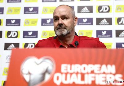 """Le sélectionneur de l'Écosse évoque un Diable Rouge qu'il connaît bien : """"J'espère qu'il ne sera pas si bon mardi"""""""