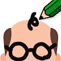 直感!お絵かきクイズ - 一筆書きで解答する暇つぶし人気ゲーム icon