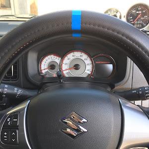 アルトワークス  HA36S 4WD MT SportWORKSのステアリングのカスタム事例画像 メガネさんの2018年10月21日09:53の投稿