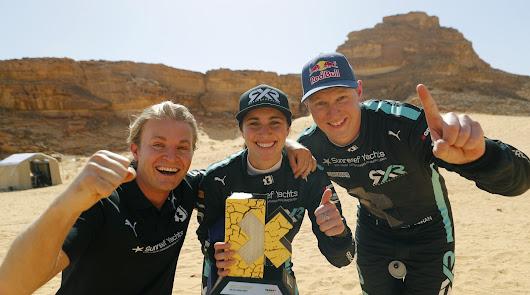 Rosberg X Racing hace historia al convertirse en el 1º ganador de la Extreme E