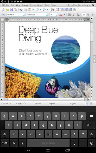 玩免費商業APP|下載Office HD: TextMaker BASIC app不用錢|硬是要APP