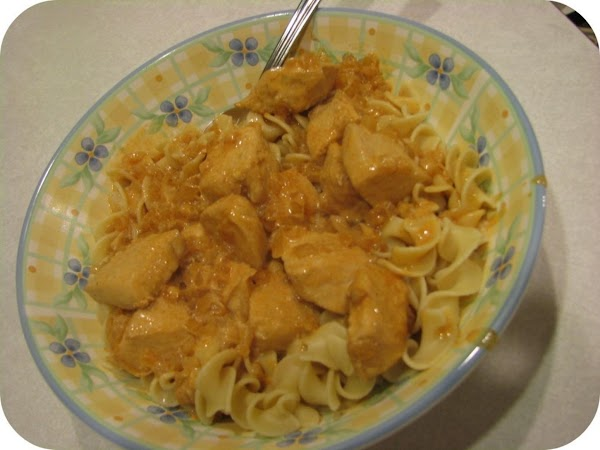 Early  Marriage Chicken Paprika Recipe