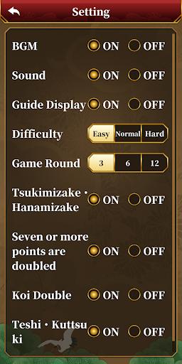 Hanafuda Koi Koi apktram screenshots 7