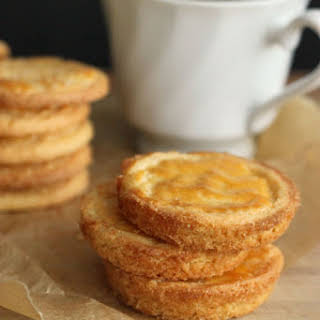 Custard Tart Cookies.