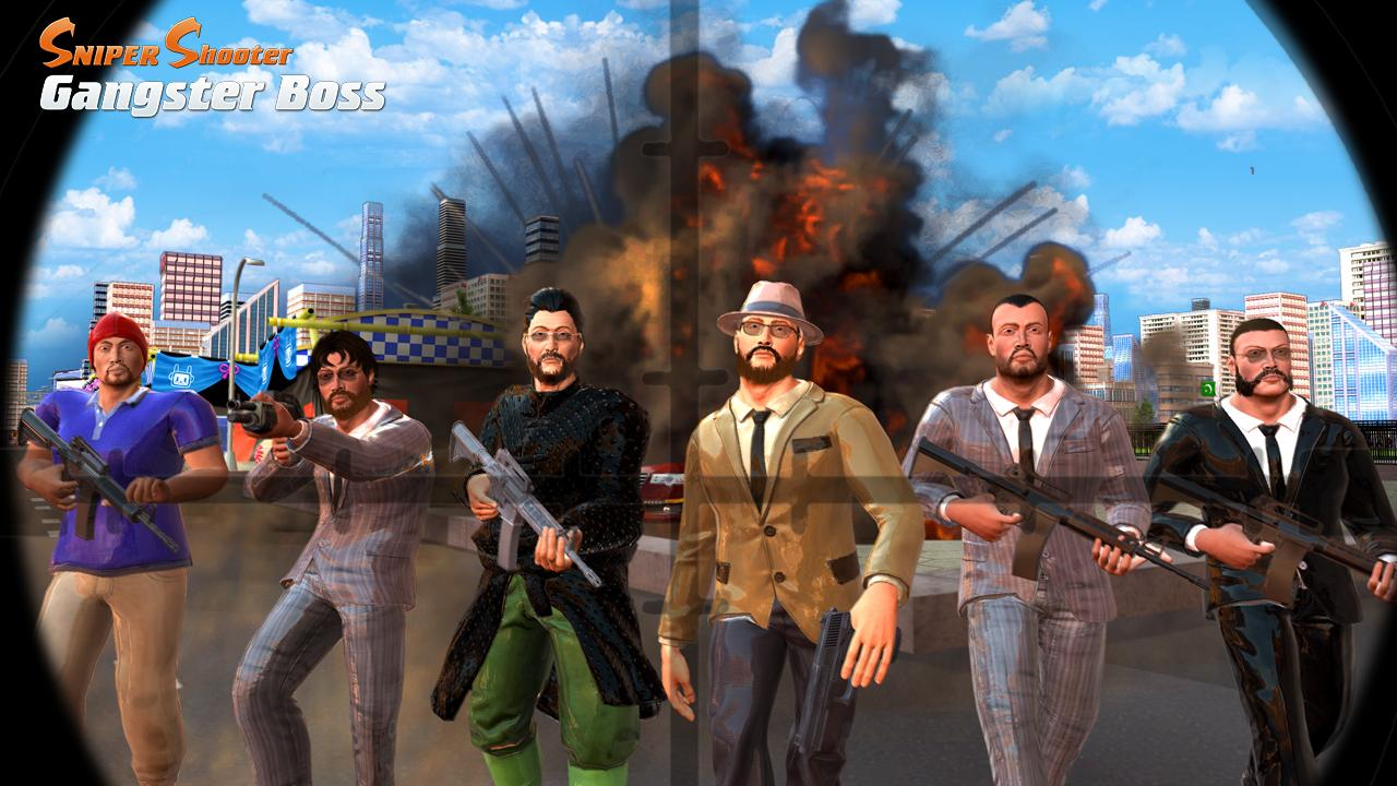 Sniper Shooter - Gangster Boss- screenshot
