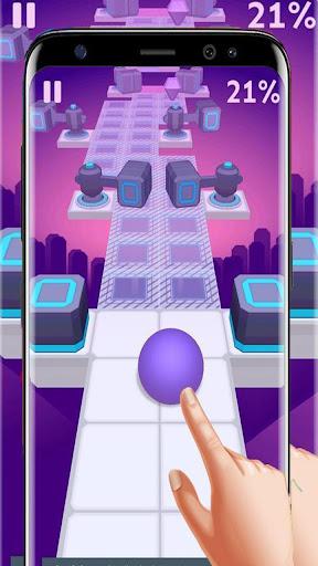Dance Ball roll road sky Line screenshot 6