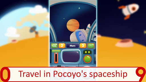 Pocoyo 1, 2, 3 Space Adventure: Discover the Stars apkpoly screenshots 17