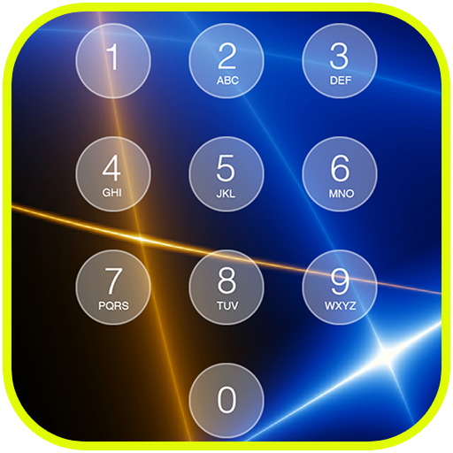 Retina Keypad Lockscreen