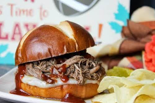 """Click Here for Recipe: Touchdown Sammies """"These were a hit! The meat..."""