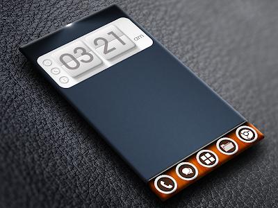 Flip Clock 3D UCCW Skin 1.1