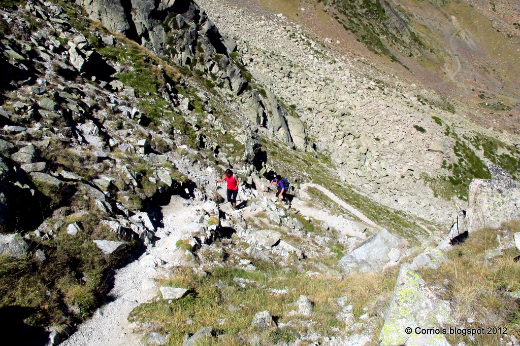 Photo: Arribant al Coll dels Isards