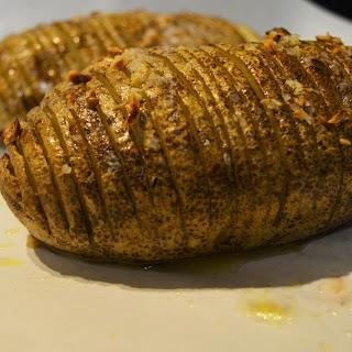 Sliced Baked Potatoes