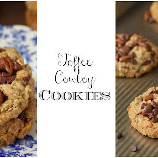 Toffee Cowboy Cookies.