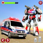 Ambulance Robot Transformation-Doctor Robot Rescue