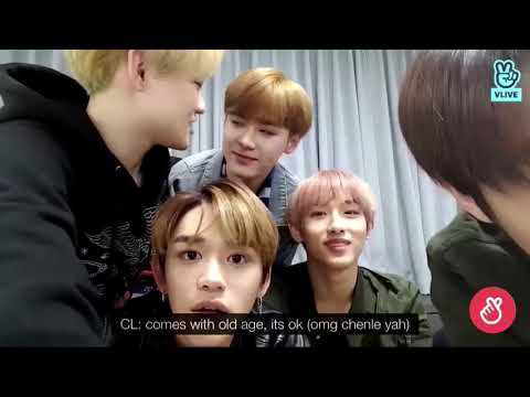NCT Chenle making fun of Kun's age