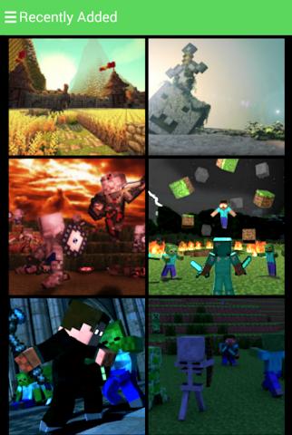 android Hintergrundbilder minecraft Screenshot 1