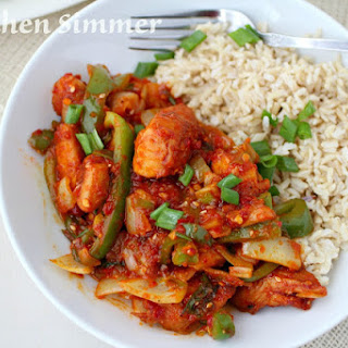 Thai Chili Chicken Stir Fry.