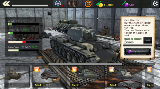 World War Tank : Tank of Fury 1.1.3 screenshots 5