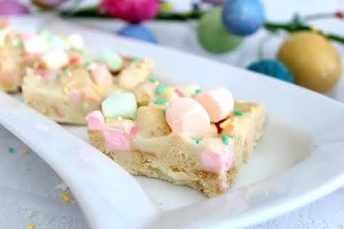 """Springtime S'mores """"I love making Easter treats, especially when they're this easy...."""