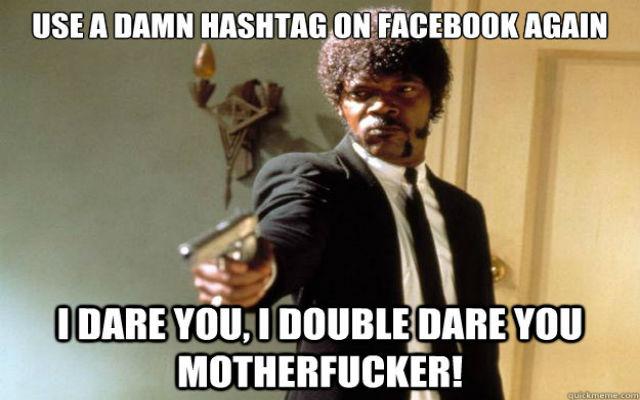 no Hashtags