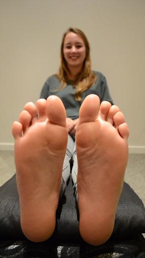 Tickle Feet Anna