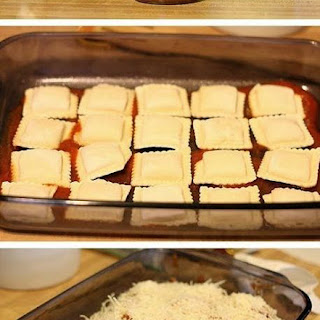 3-Ingredient Easy Baked Ravioli