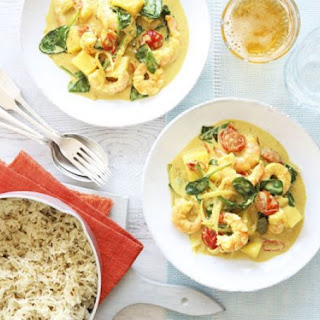 Goan Prawn & Coconut Curry with Cumin Rice Recipe