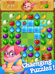 Sweet Fruit Match 3 Screenshot