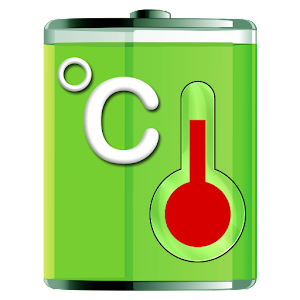 Battery temperature logo