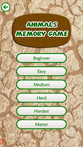 Animals Memory Game 1.0 screenshots 2