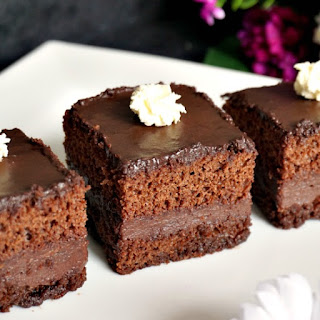 Chocolate Cake With Nutella Filling.
