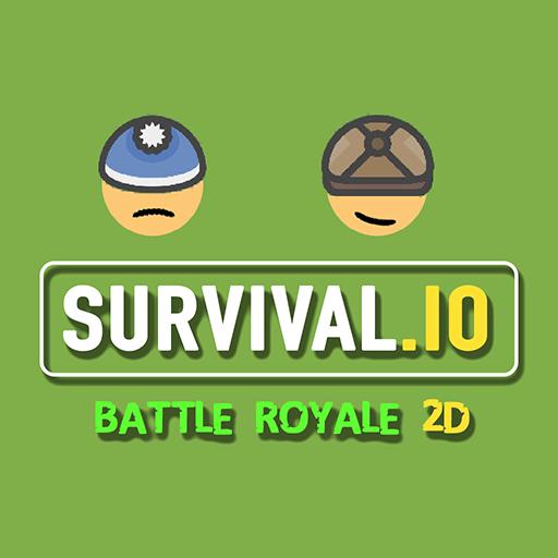 Survival io 2D Battle Royale