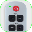 All TV remote control icon