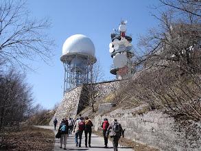 Photo: vojni objekti blizu vrha