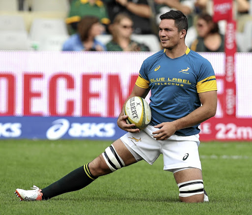 Good news: A fully fit Francois Louw has been welcomed back into the Bok fold by coach Allister Coetzee. Picture: GALLO IMAGES
