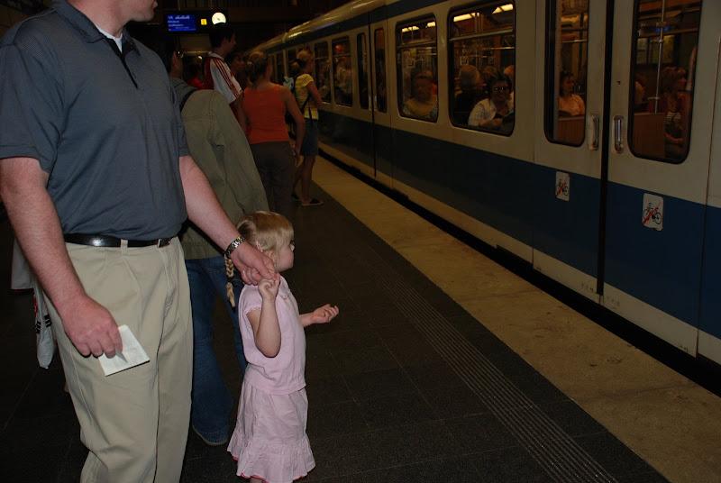Photo: Jade's first Subway ride