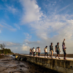 We the people  by Gopichand Kokirkar - Landscapes Beaches