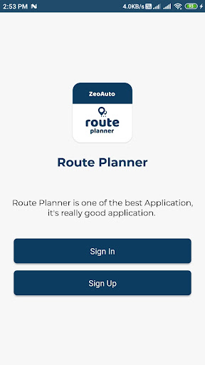 Zeo Route Planner Free unlimited routes  screenshots 1