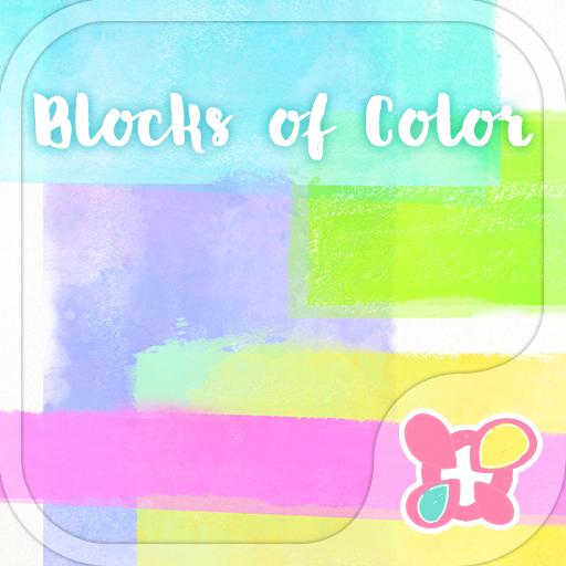 个人化の背景圖片/icon 水彩色塊 LOGO-記事Game
