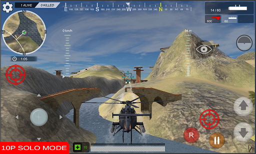 Heli Clash Battle Royale  captures d'écran 1