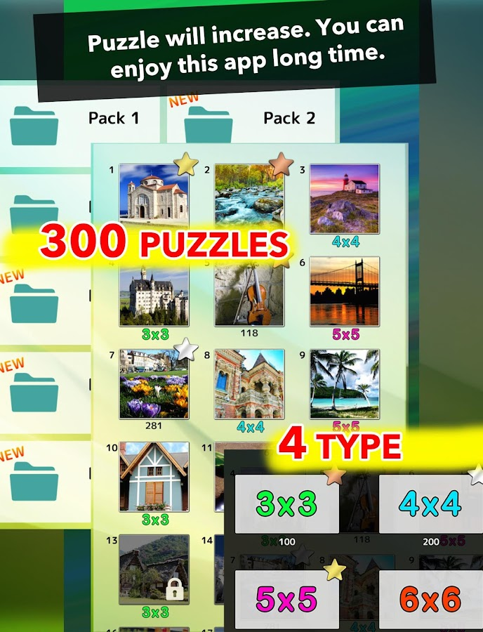 Picture Tile Puzzle- screenshot