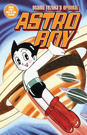 Portada de Astro Boy, de Ozamu Tezuka.