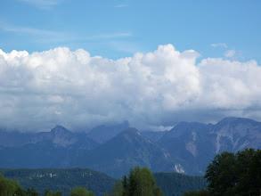 Photo: Eine Ansicht von Ossiacher Tauern, aus der Route Kerschdorf.