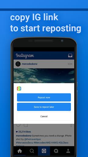 Insta Repost for Instagram Screenshot