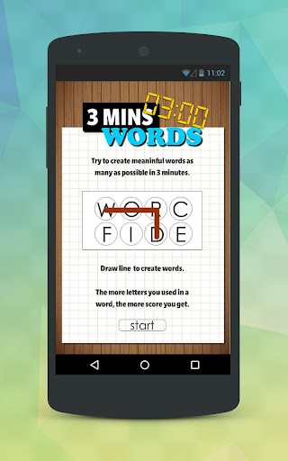 3 Minutes Word Finder