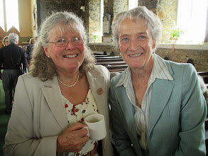 Photo: Mary Harvey and Thea Boyle looking bright eyed as usual.