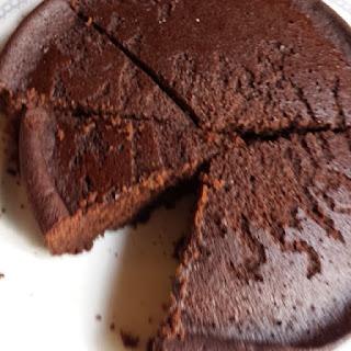 Avi's Irresistible Gluten-Free Chickpea Chocolate Cake.