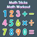 Math Tricks: Math Workout, Brain Quizzes & Puzzles icon