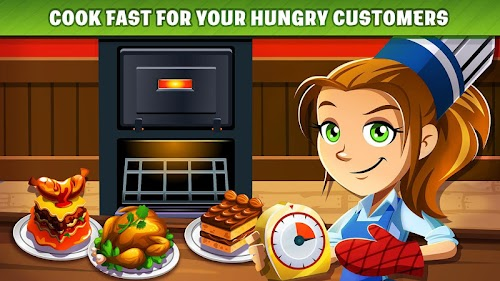 Screenshot 3 COOKING DASH 2.14.4 APK MOD