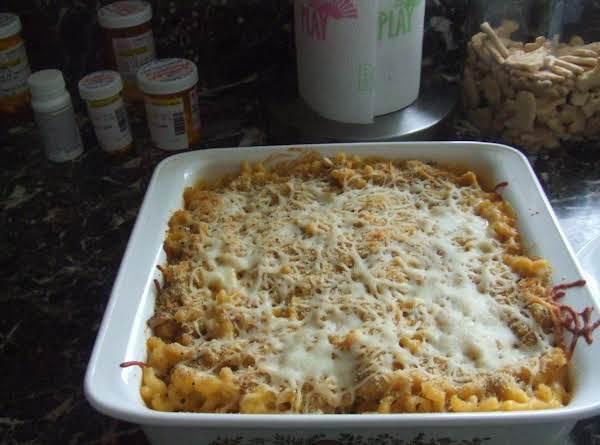 Bob W's Cheese Bacon & Turkey Macaroni Bake Recipe
